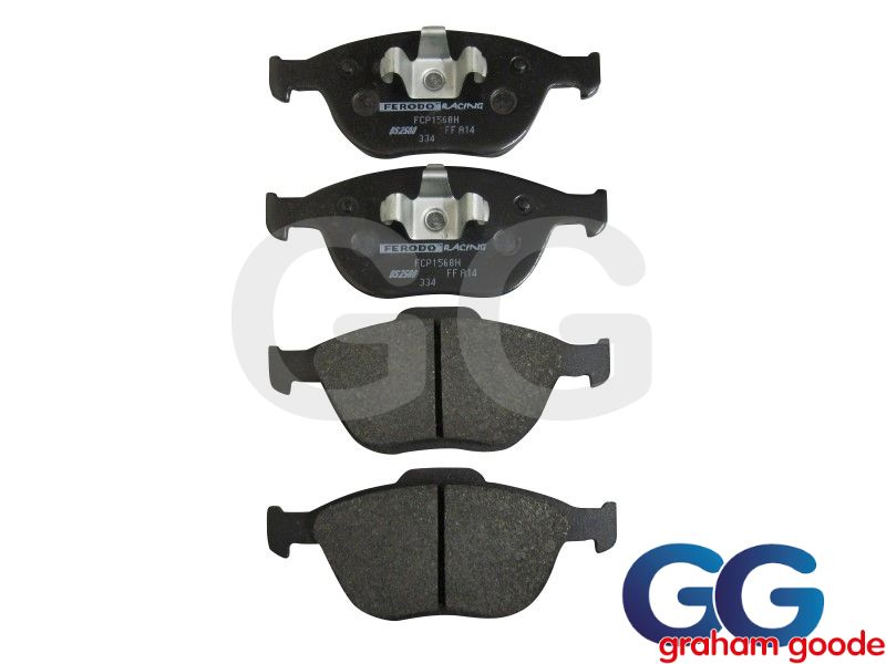 Front Brake Pads Fiesta ST150 Ferodo DS2500 Performance Uprated FCP1568H