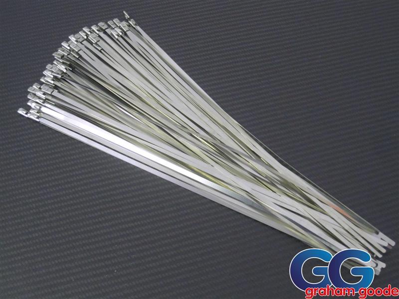 Metal Tie Wraps : Stainless steel tie wraps gg