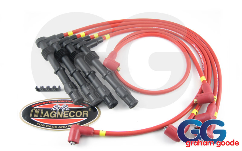 Magnecor KV85 Competition Plug Leads Set Angled Ends Sierra Sapphire & Escort Cosworth GGR1050