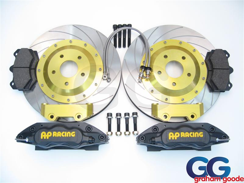 AP Racing Big Brake Kit 330MM 6pot Black Subaru Impreza GT WRX STi GGS1188