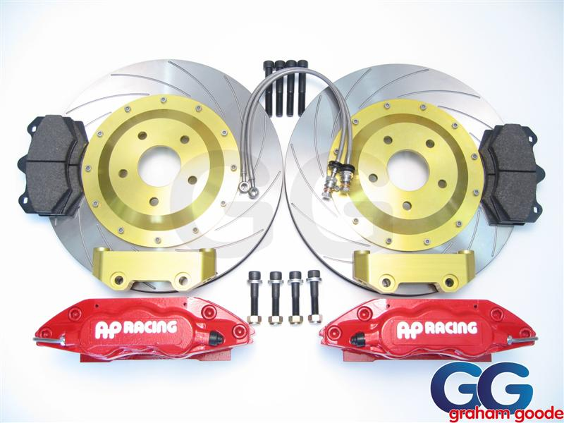AP Racing Big Brake Kit 362MM 6pot Subaru Impreza GT WRX STi GGS1364