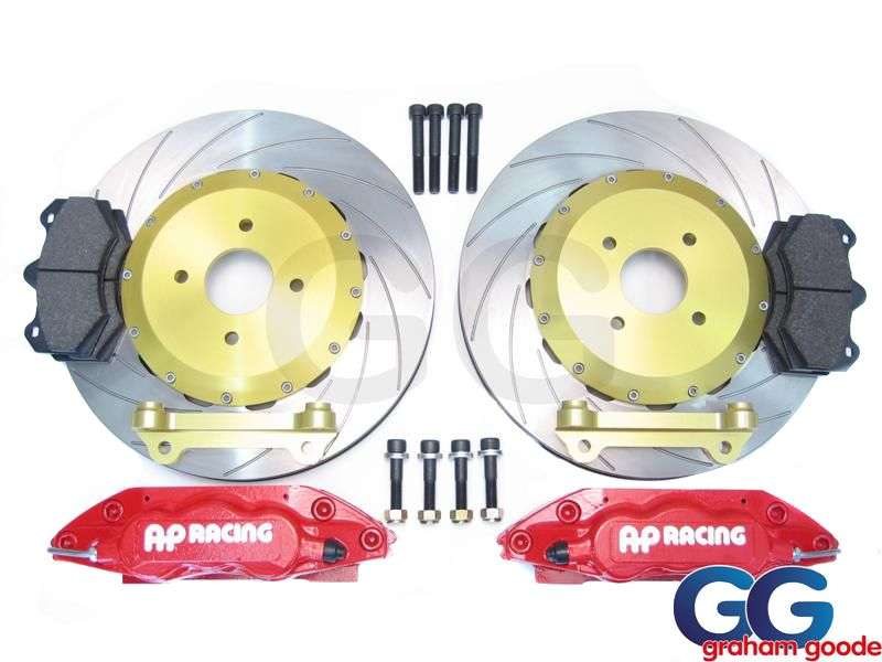 AP Racing Big Brake Kit Red | Ford Focus RS MK1