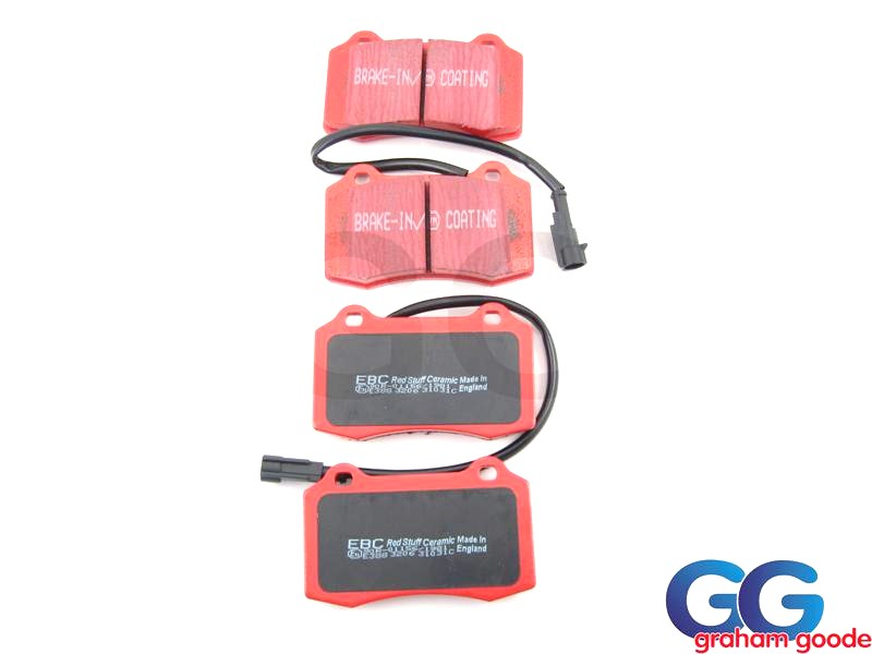 EBC RedStuff Front Brake Pads | Ford Focus RS MK1