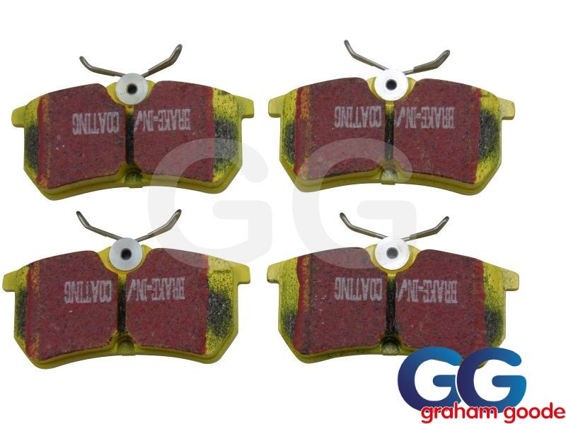 EBC YellowStuff Rear Brake Pads | Ford Focus RS MK1