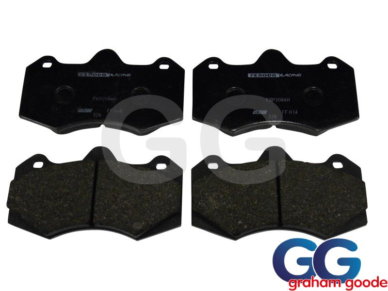 Ferodo DS2500 Uprated Brake Pads for GGR AP Racing 6 Pot Uprated CP7040 Caliper FRP3084H
