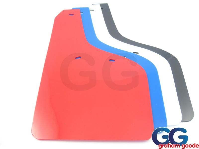 Fiesta ST Mudflaps PVC Set of 4 Red Blue Black White