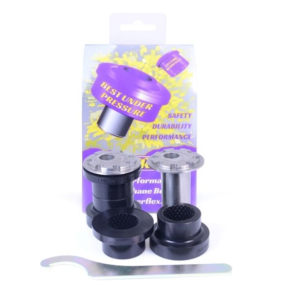 Powerflex Full Car Set Front Wishbone Front Bushes Camber Adjustable 14MM Bolts | Ford Focus RS MK3