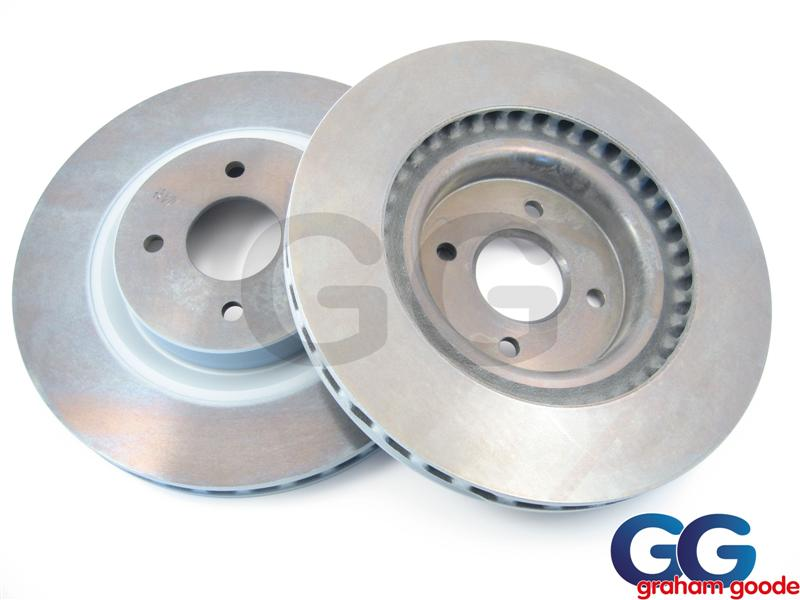 Ford OE Front Brake Discs X2 | Ford  Focus RS MK1