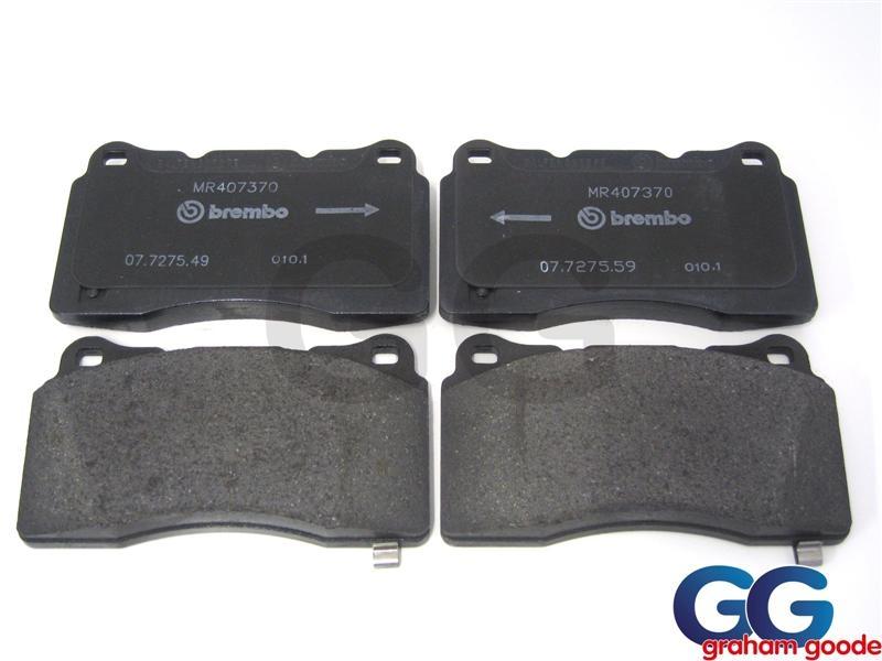 Brembo Brake Pads >> Front Brake Pads Impreza Wrx Sti 01 On Genuine Brembo Pads