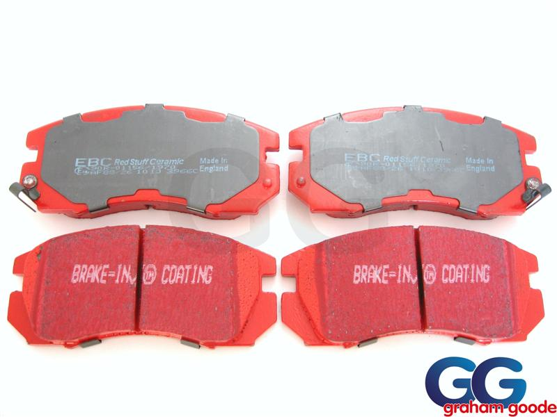 Impreza Front Brake Pads 94-96 EBC Redstuff Ceramic Uprated DP3966c