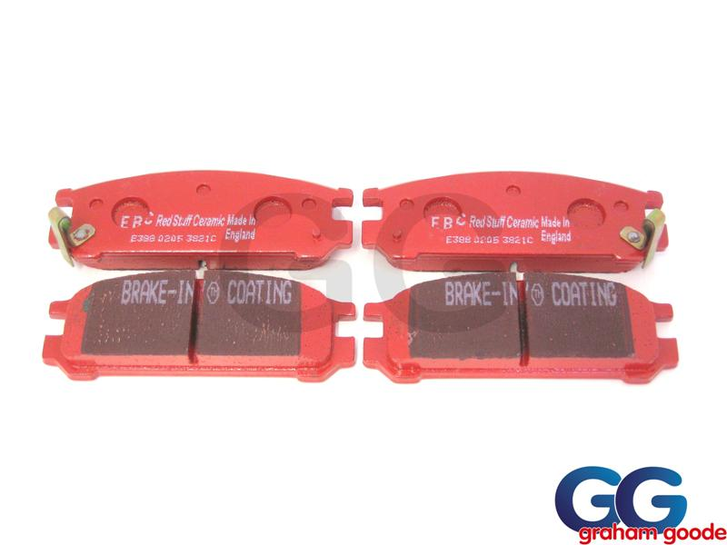 Impreza Rear Brake Pads 94-96 EBC Redstuff Ceramic Uprated DP3821c