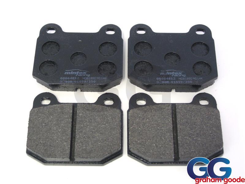 Impreza Rear Brake Pads Brembo Caliper Mintex MDB1890M1144 GGM101