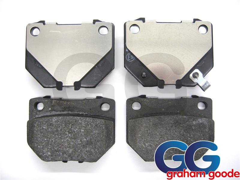 Impreza Rear Brake Pads Standard Lucas Twin Pot NOT Brembo Caliper GGS2450