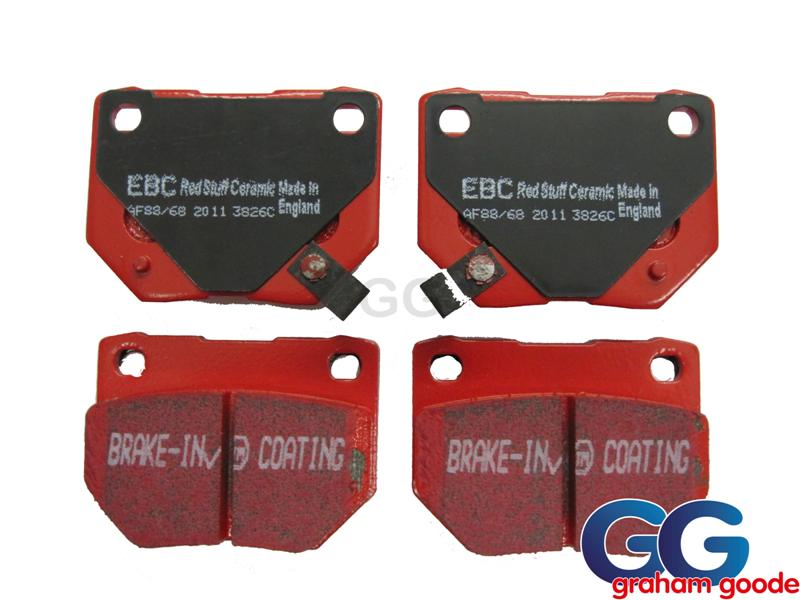 Impreza Rear Brake Pads Twin Pot EBC Redstuff Ceramic Uprate DP3826C