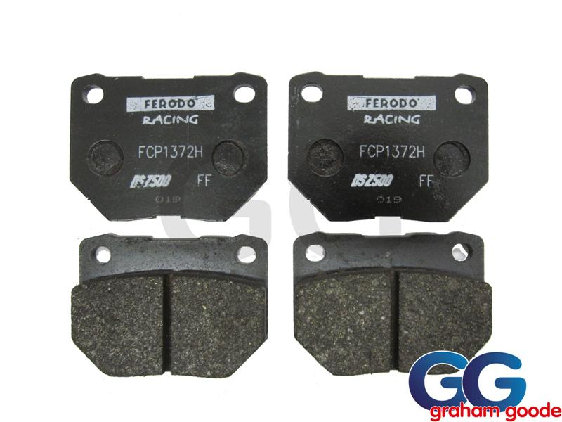 Impreza Rear Brake Pads Twin Pot Ferodo DS2500 FCP1372H GGS2240