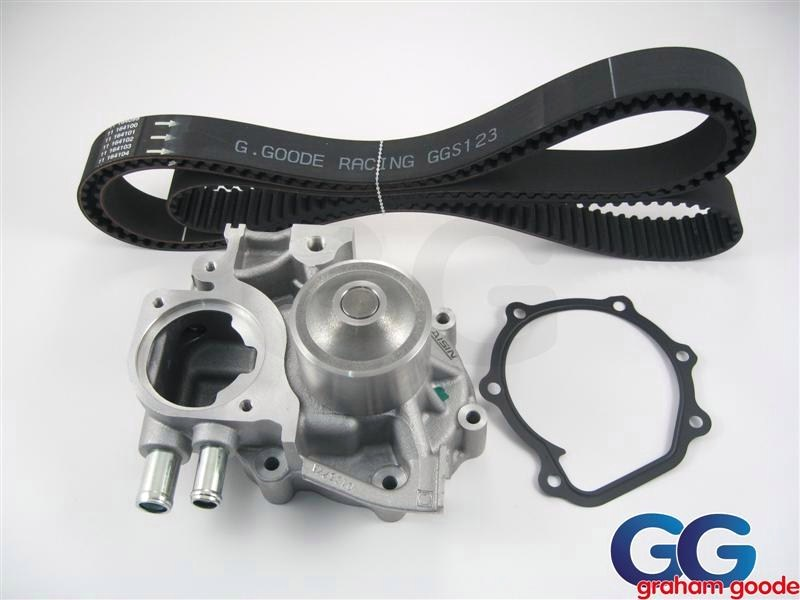 Impreza Turbo Water Pump and Timing Cam Belt GGS122.123