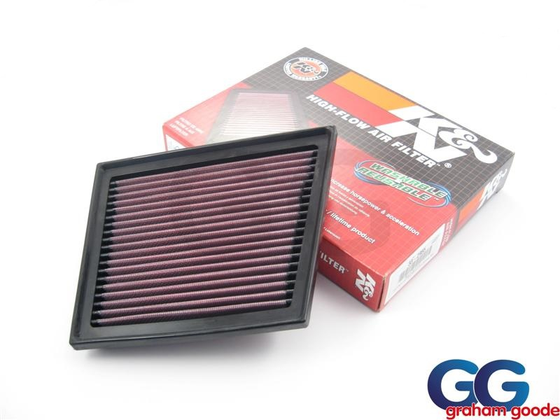 K&N Panel Air Filter Replacement | Ford Fiesta ST180 MK7