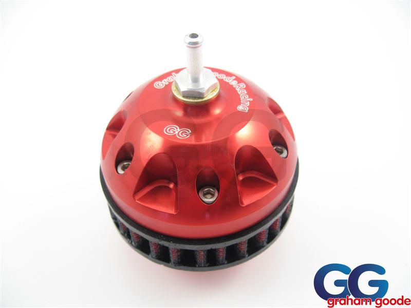 Impreza Dump Valve Double Piston GGR CNC Machined Red GGS798R