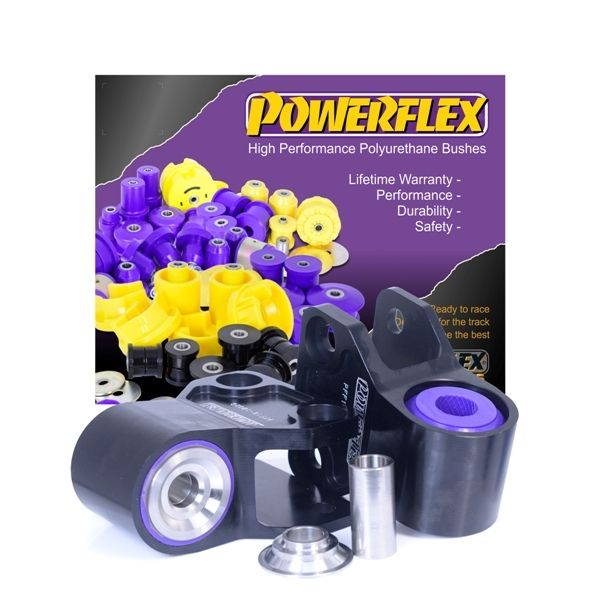 Powerflex Full Car Set Front Wishbone Rear Bush Anti Lift & Caster Offset Bushes | Ford Focus RS MK3
