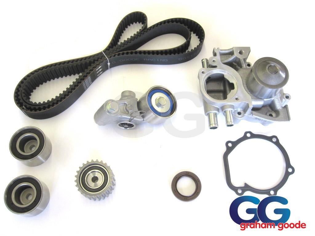 Subaru Impreza Turbo Wrx Sti Cam Timing Belt Kit Front Crank Seal Water Pump 1996 1998 Ggs123tbk9