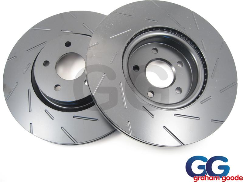 Impreza Rear Brake Discs 98-01 266mm Vented EBC Ultimax Grooved Uprated USR730